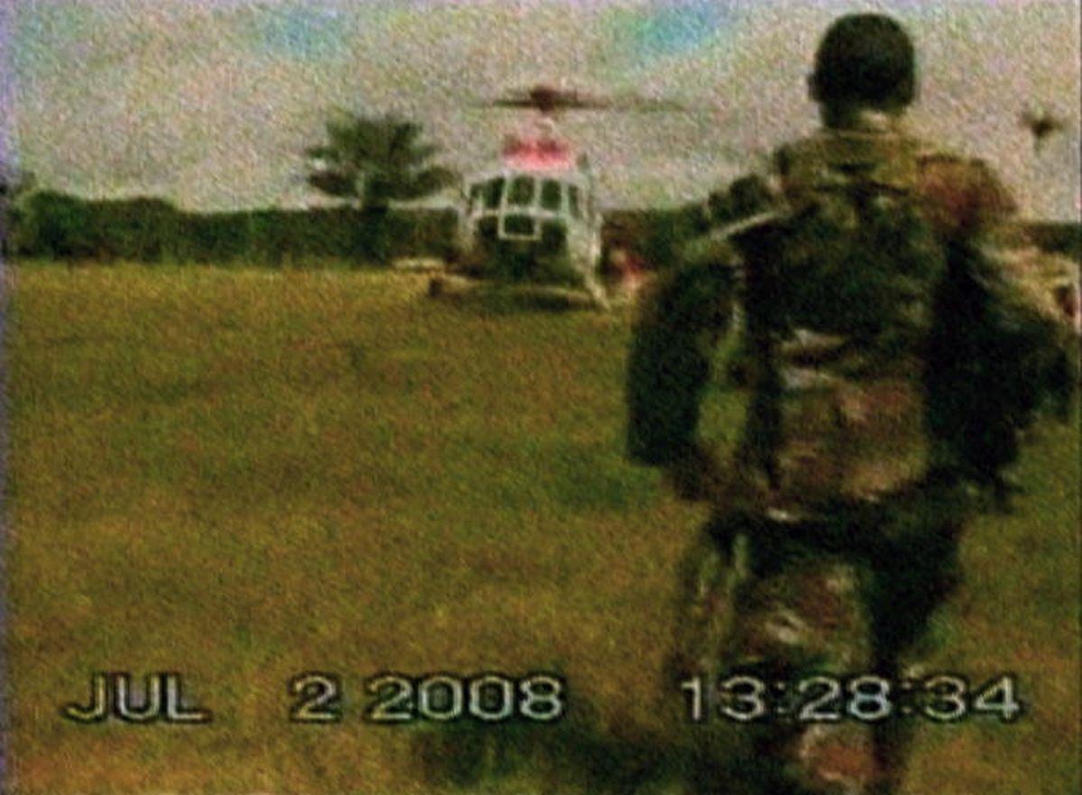 Ein Bild von der Befreiungsaktion am 2. Juli 2008.