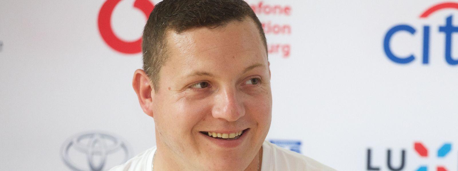 Tom Habscheid, lançador de peso, alcançou o 4º lugar nos Jogos Paralímpicos de Tóquio.
