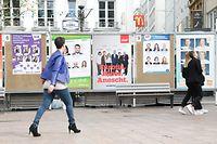 Politik, Wirtschaft, Online, Lokales, Wahlen, Europawahlen, Wahlplakate Foto: Anouk Antony/Luxemburger Wort
