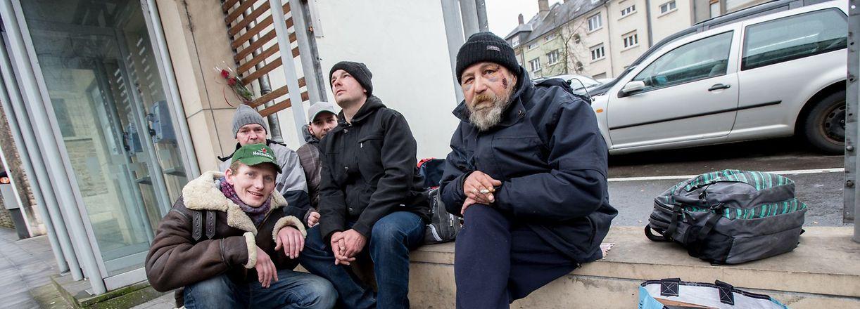 Reunion commemorative SDF - Bonnevoie -
