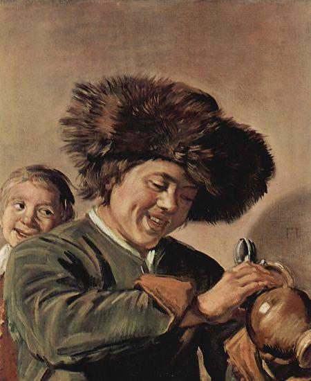 """Frans Hals' """"Zwei lachende Jungen mit Bierkrug"""" wurde bereits zweimal gestohlen."""