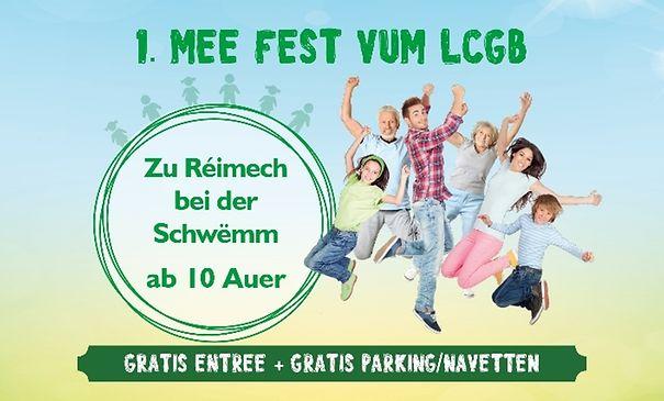 1. Mee Fest vum LCGB
