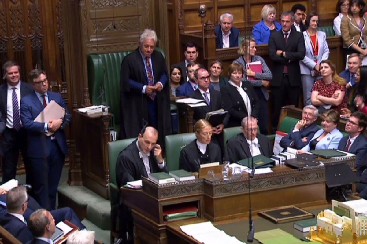 John Bercow a été ovationné par l'opposition qui lui a rendu un vibrant hommage