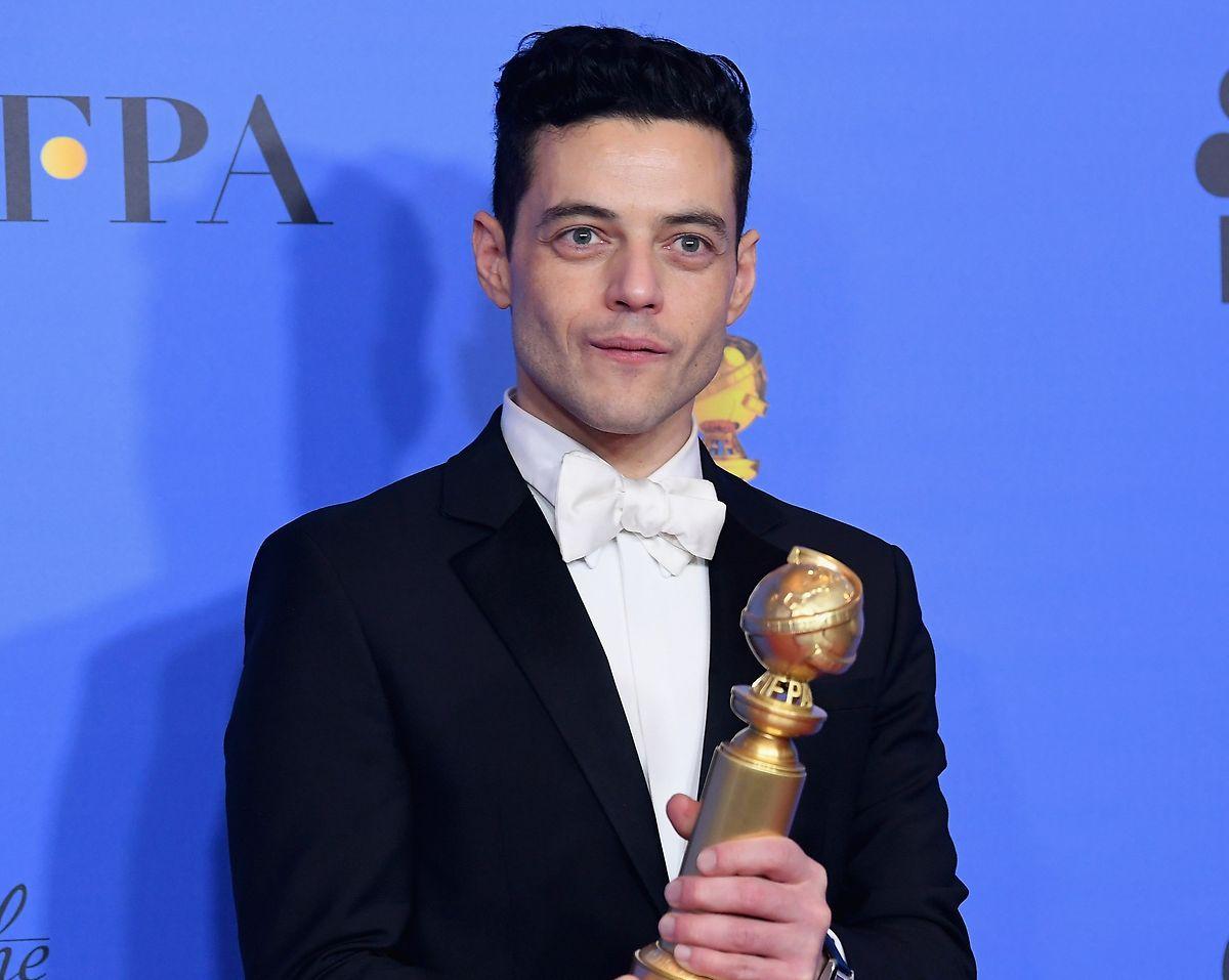 Rami Malek, venceu o prémio de Melhor Ator na vertente de Drama.