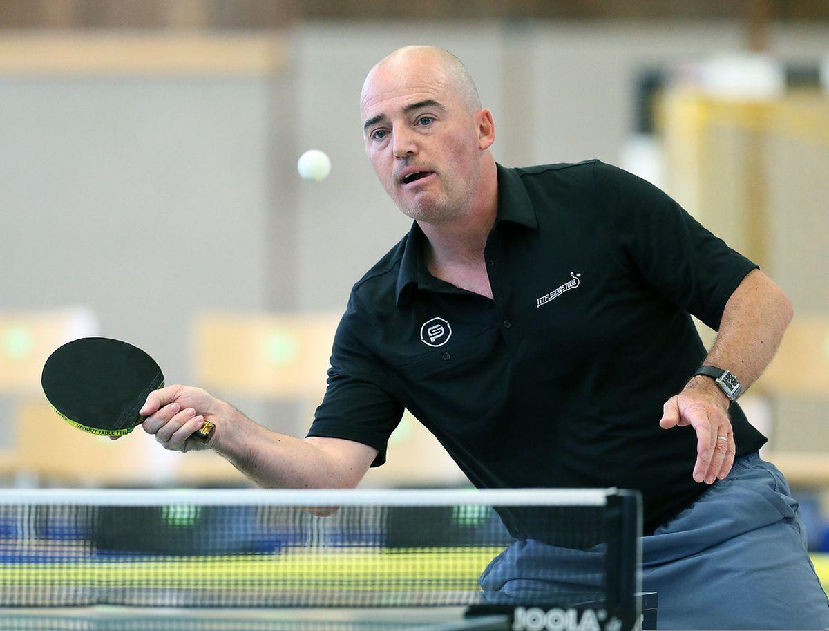 Philippe Saive a disputé son premier match au Luxembourg et il s'est imposé face à Arlindo De Sousa.