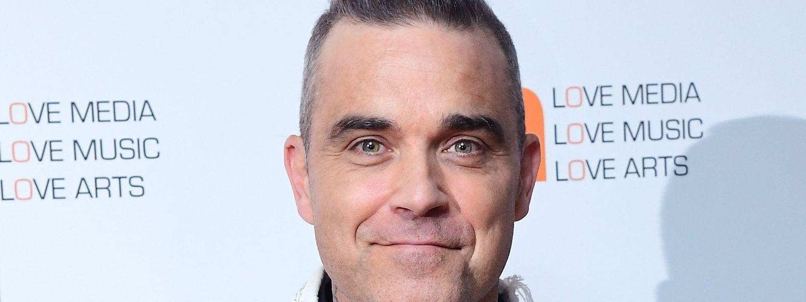 Der britische Popsänger Robbie Williams gab das Passwort für seinen Twitter-Account vosichtshalber aus der Hand.