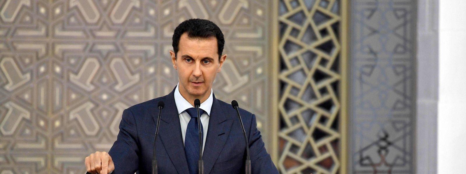 Baschar al-Assad ist seit dem Jahr 2000 Syriens Staatspräsident (Archivfoto).