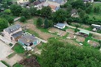 Vieles ist am Campingplatz in Born durch die Überschwemmungen an der Sauer zerstört worden, die Wiederaufnahme des Betriebs lohnt sich für das Touristensyndikat nicht mehr.