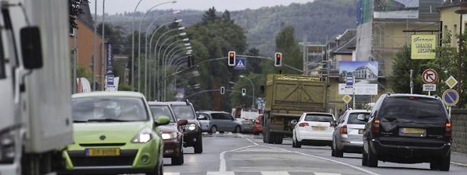 """Durch die Eröffnung der """"Nordtrasse"""" werden die Ortschaften entlang der N7 und der CR123 entlastet."""