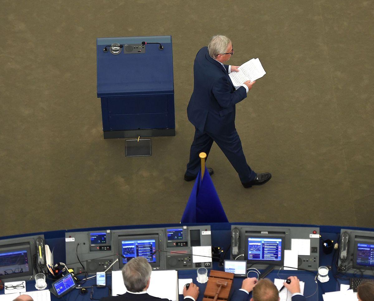 Vor allem in der Migrations- und Asylpolitik drängt Juncker auf Fortschritte.