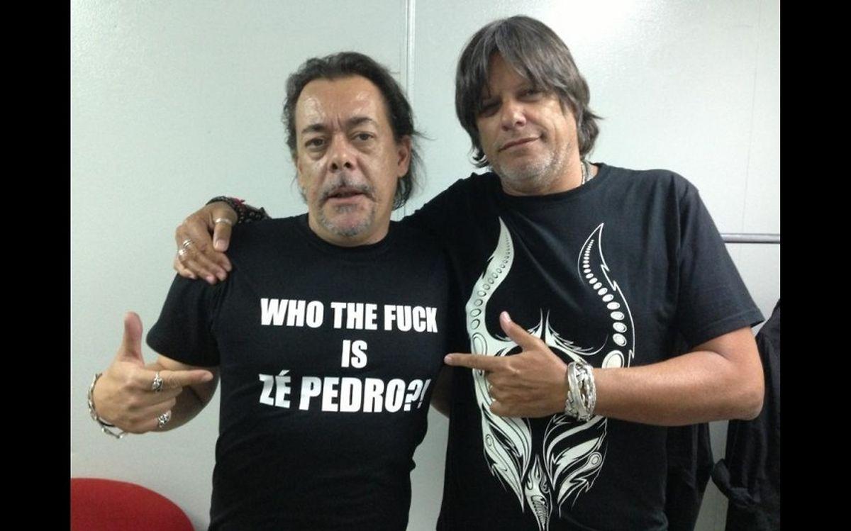 João Cabeleira e Zé Pedro