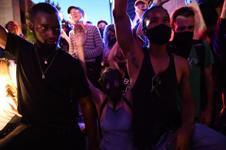 Die Veranstaltung wurde von massiven Protesten begleitet.