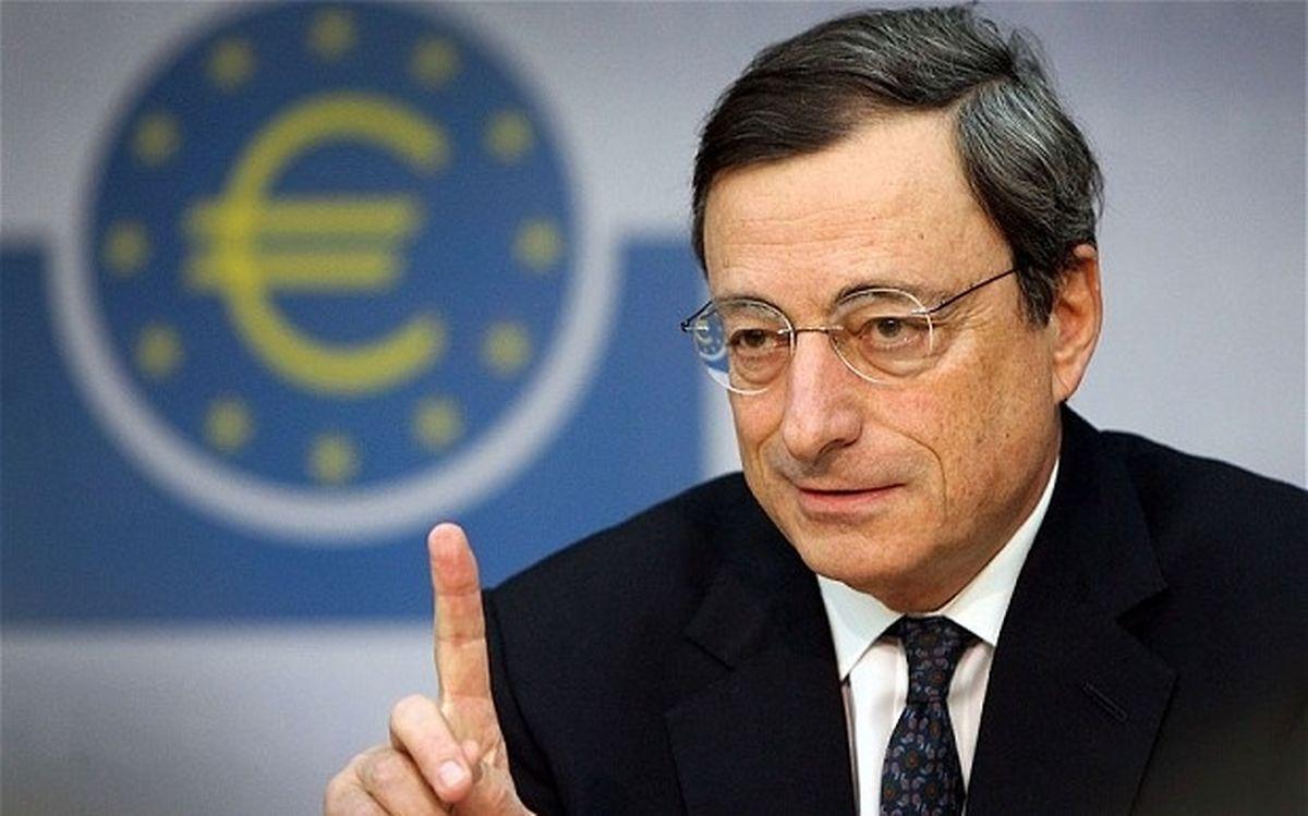 Mario Draghi a marqué l'institut francfortois.