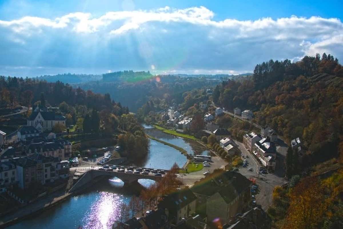 Bouillon, home to a castle and a zoo Photo: Shutterstock
