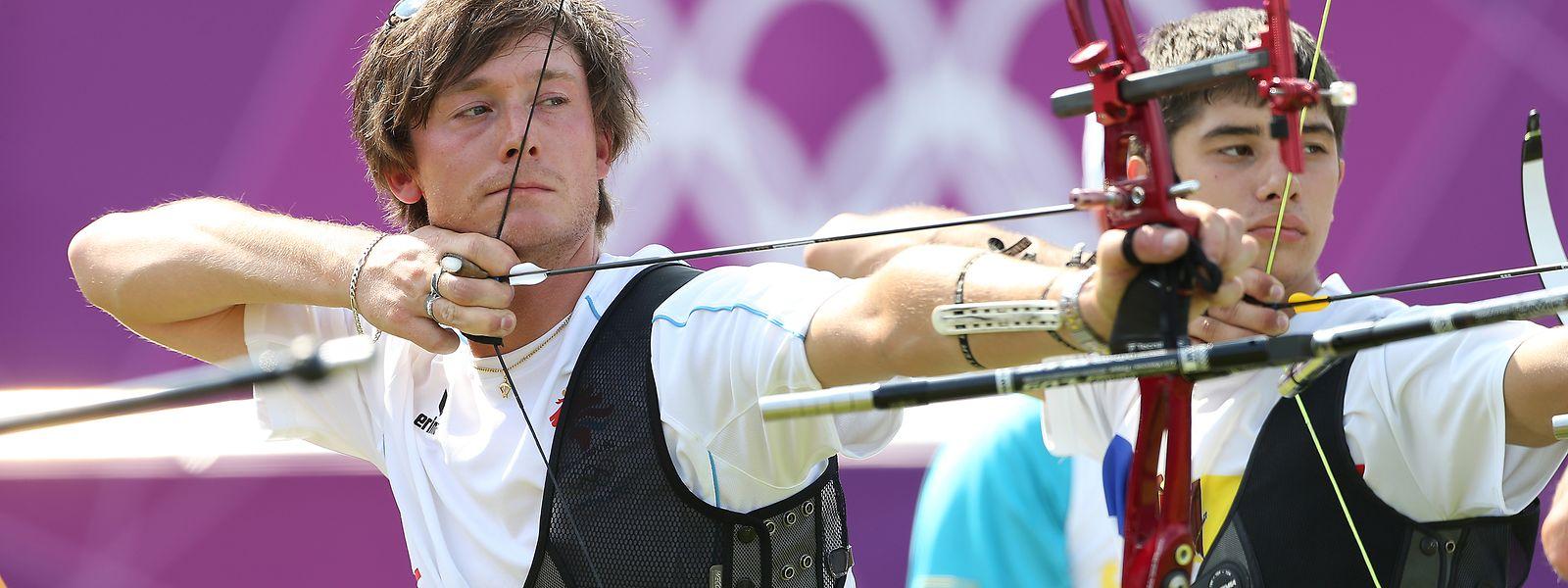 Rückblick: Jeff Henckels bei den Olympischen Spielen 2012 in London.