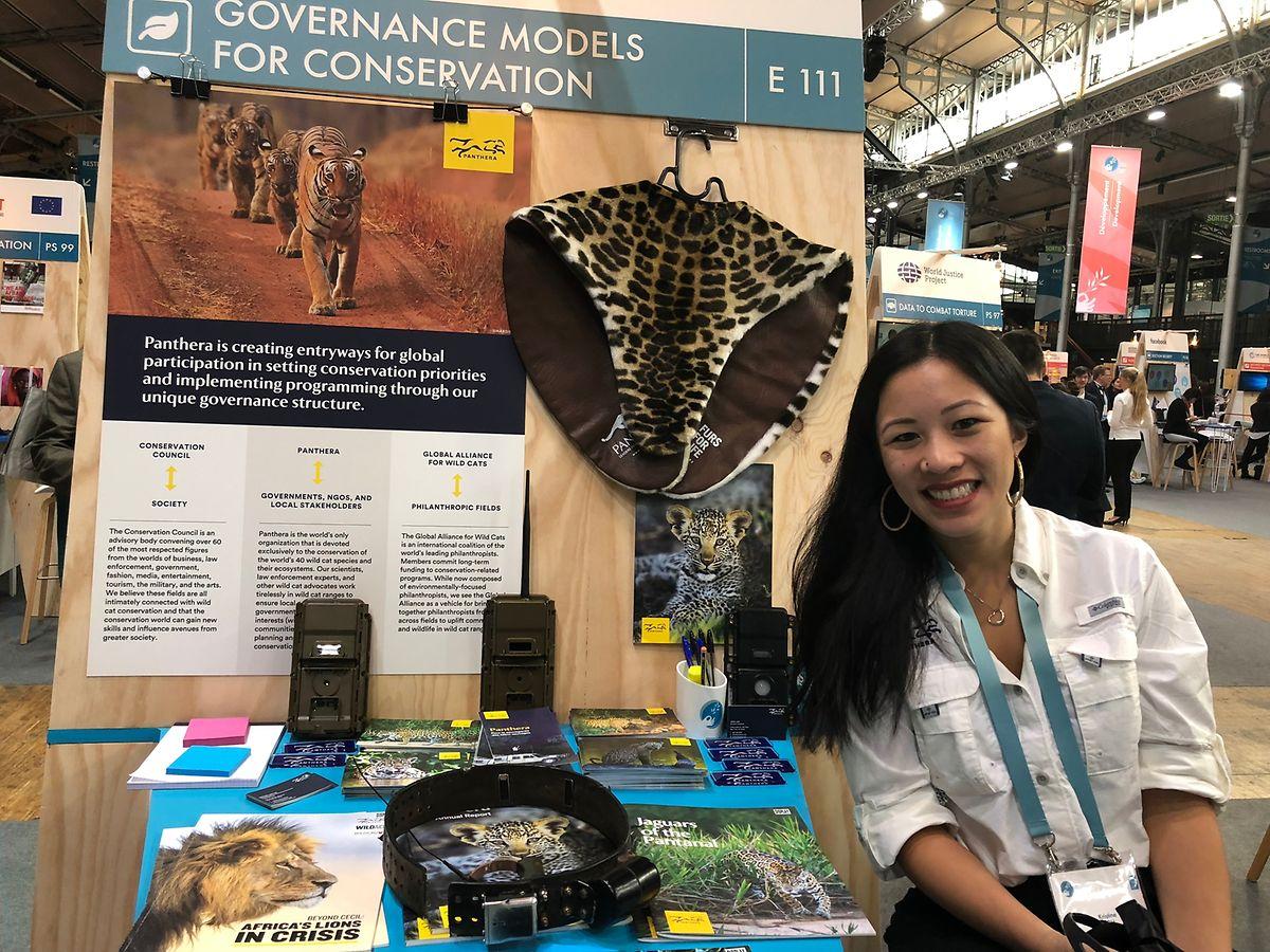 Préserver la faune pour préserver la paix: une porteuse de projet.