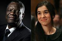 Denis Mukwege et Nadia Murad