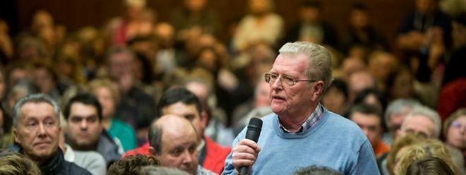 Georges Weissen, Präsident des Interessenvereins aus dem Neudorf, schlug vor auf kleinere Strukturen zurückzugreifen.