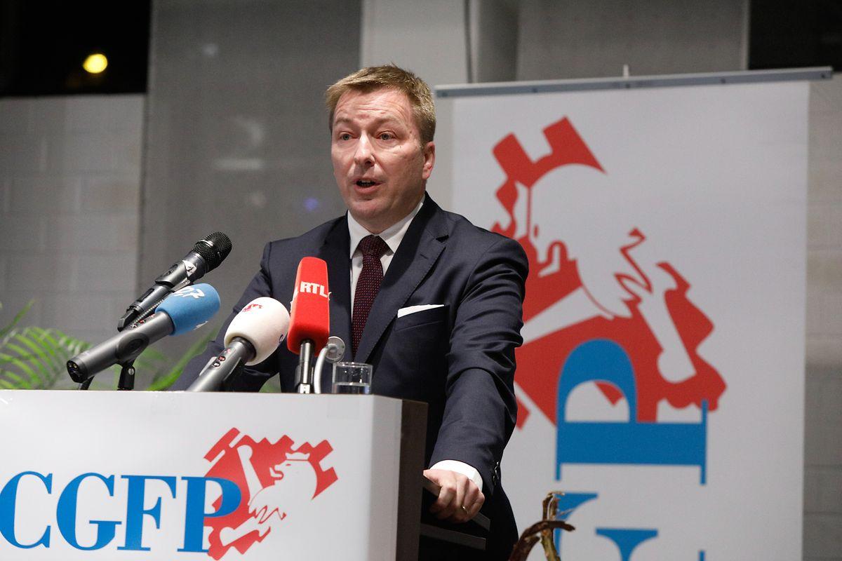 Der Minister für den öffentlichen Dienst, Marc Hansen, wird kommendes Jahr mit der CGFP über ein neues Gehälterabkommen verhandeln.