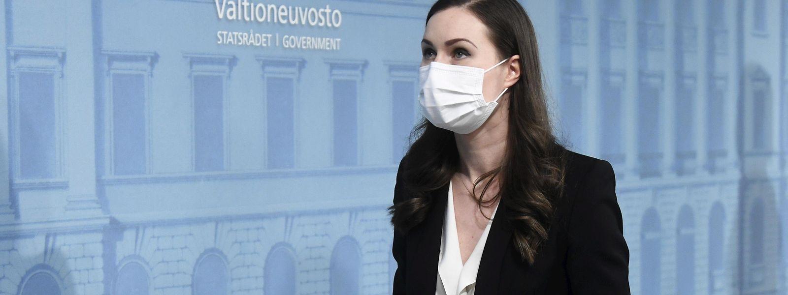Die finnische Ministerpräsidentin Sanna Marin hat Anfang März den Ausnahmezustand durchgesetzt, um strengere Corona-Maßnahmen einführen zu können.