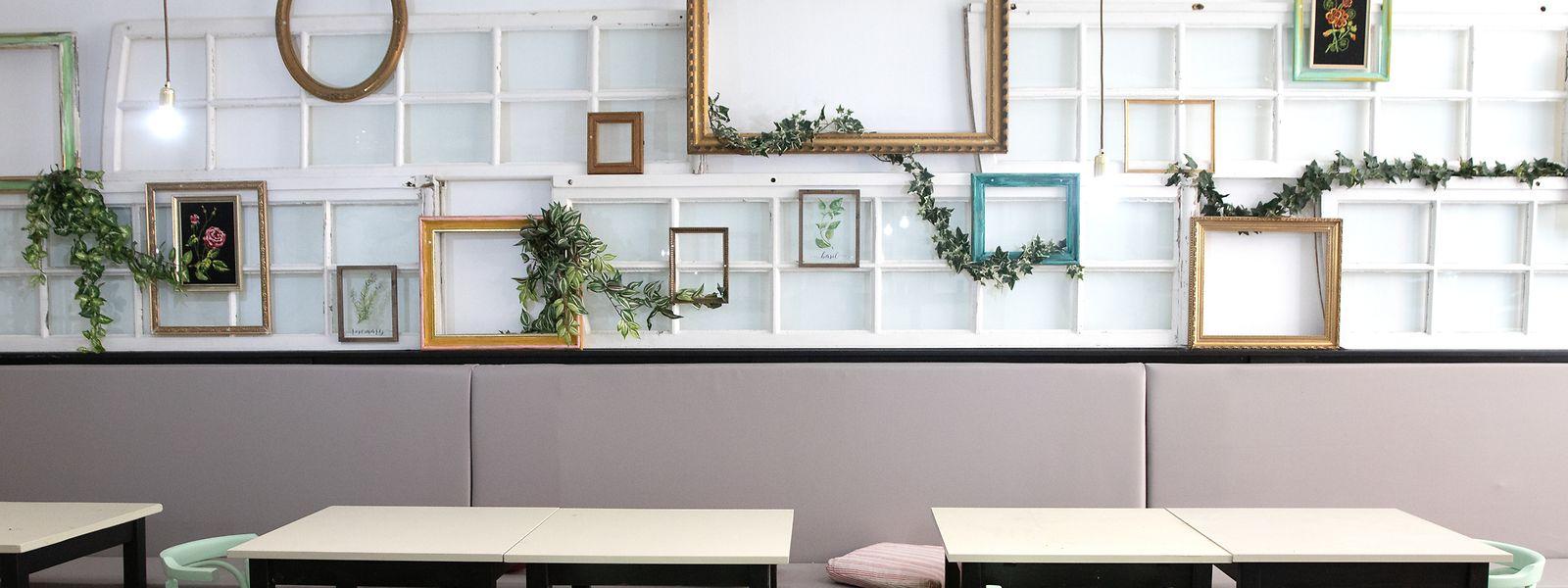 Die Räumlichkeiten des Chiche in Esch wurden von vier Künstlern gestaltet. Bei kulturellen Events in Esch wollen die Verantwortlichen des Restaurants in Zukunft verstärkt Präsenz zeigen.