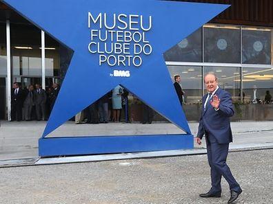 FUTEBOL - Pinto da Costa, na inauguracao do museu do FC Porto, realizado esta tarde no Estadio do Dragao, no Porto. Sabado, 28 de Setembro de 2013. (ASF/PEDRO TRINDADE) FUTEBOL