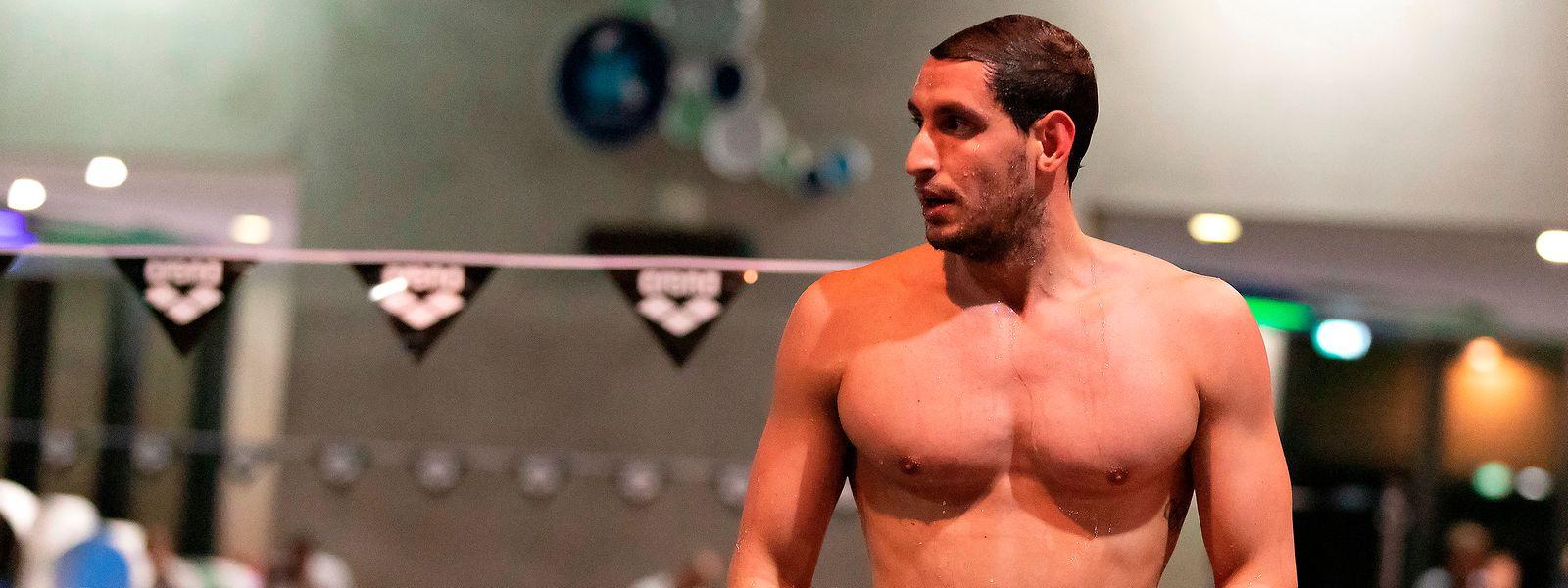 Raphaël Stacchiotti a 28 ans. Il sait que le temps presse, mais le nageur s'est fait une raison et espère avoir le soutien de ses jumeaux en 2021.