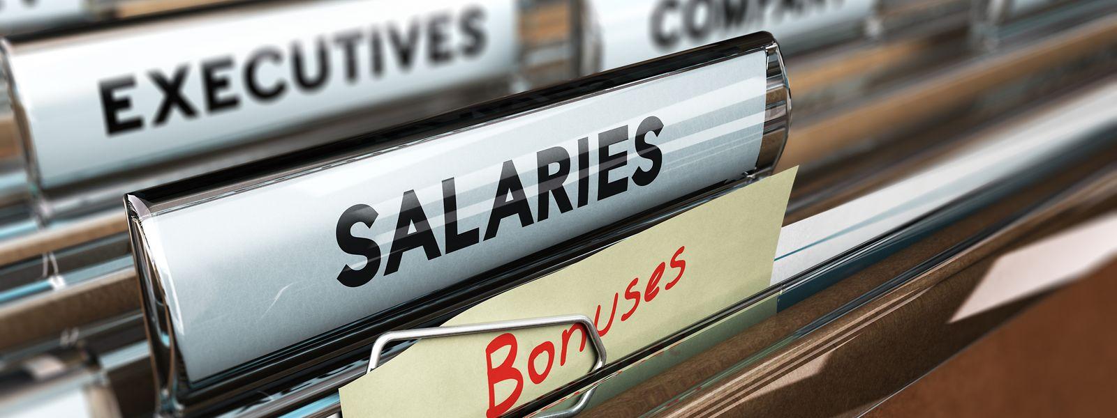 Wie hoch die Gehälter am Luxemburger Finanzplatz sind, bleibt schwer einzuschätzen – in den Berechnungen sind nicht die Boni und andere Nebenleistungen inbegriffen.