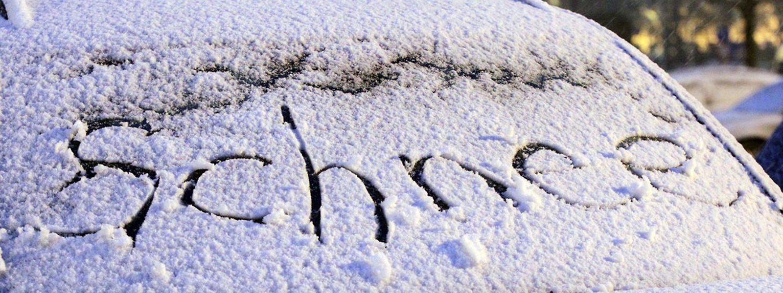 Für die Zeit zwischen den Feiertagen meldet sich der Winter auch in Luxemburg zurück.