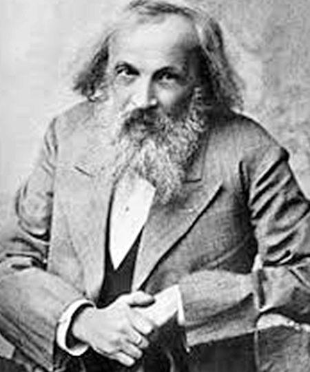 Chemieprofessor Dmitri Mendelejew