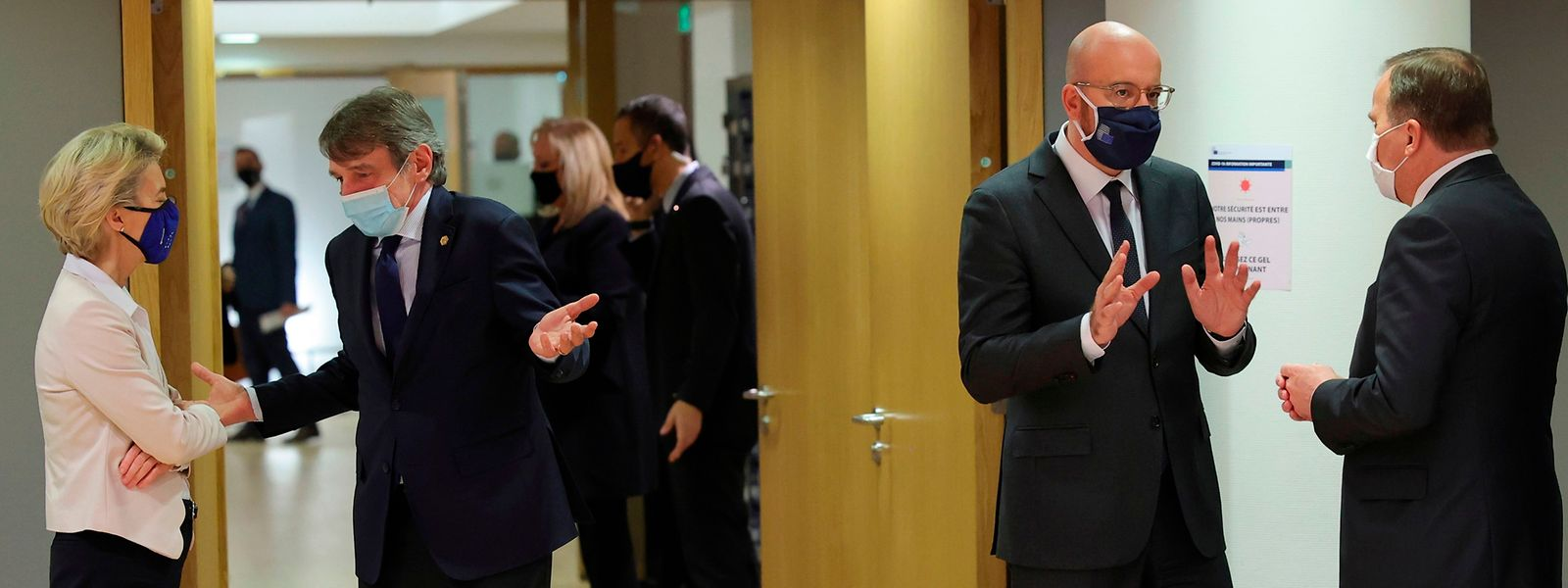 Die Staats- und Regierungschefs der Europäischen Union treffen sich zu einem Jahresendgipfel, bei dem es um Themen wie Klima, den  Sanktionen gegen die Türkei, dem Haushalt und den Plänen zur Bekämpfung des Virus geht.