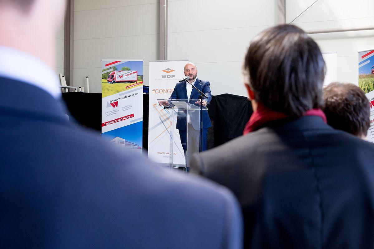 Wirtschaftsminister Etienne Schneider konnte am Mittwoch mit zwei neuen Bauprojekten für den Eurohub Sud aufwarten.
