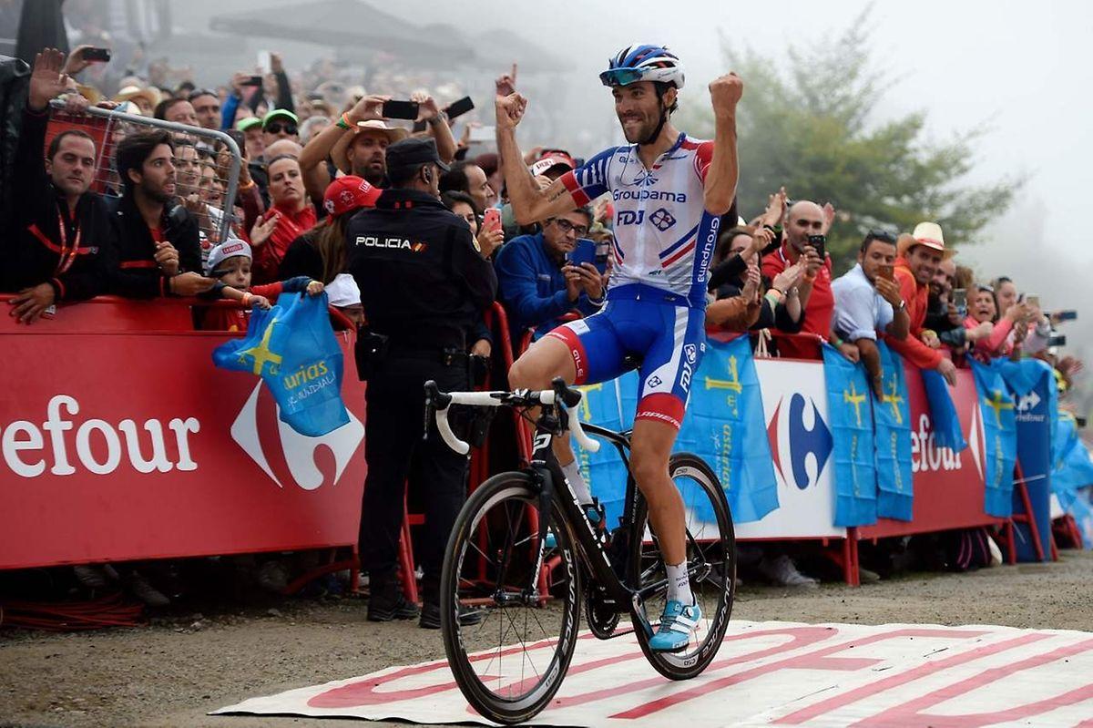 Thibaut Pinot s'est imposé sur la Vuelta après avoir déjà triomphé par le passé.