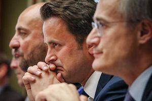 Chambre des Députés - Séance publique - Heure de question au Gouvernement  - Affaire Bettel-Kemmer -Xavier Bettel -  Photo : Pierre Matgé