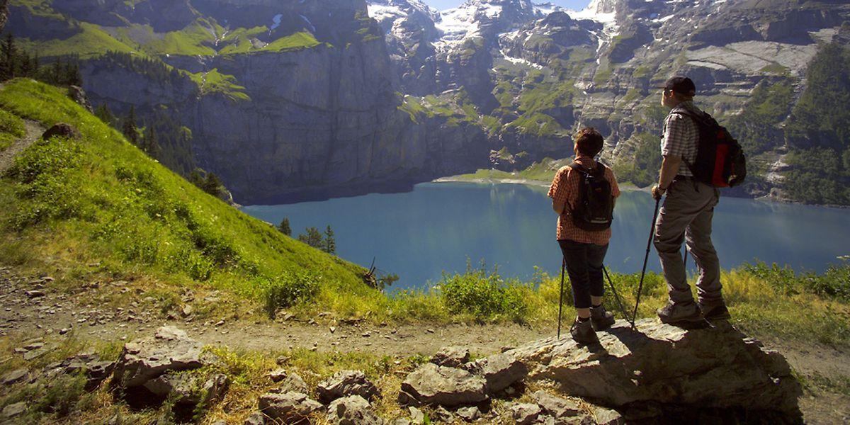 In Corona-Zeiten sind Flugreisen weniger beliebt - die Schweizer freuen sich.