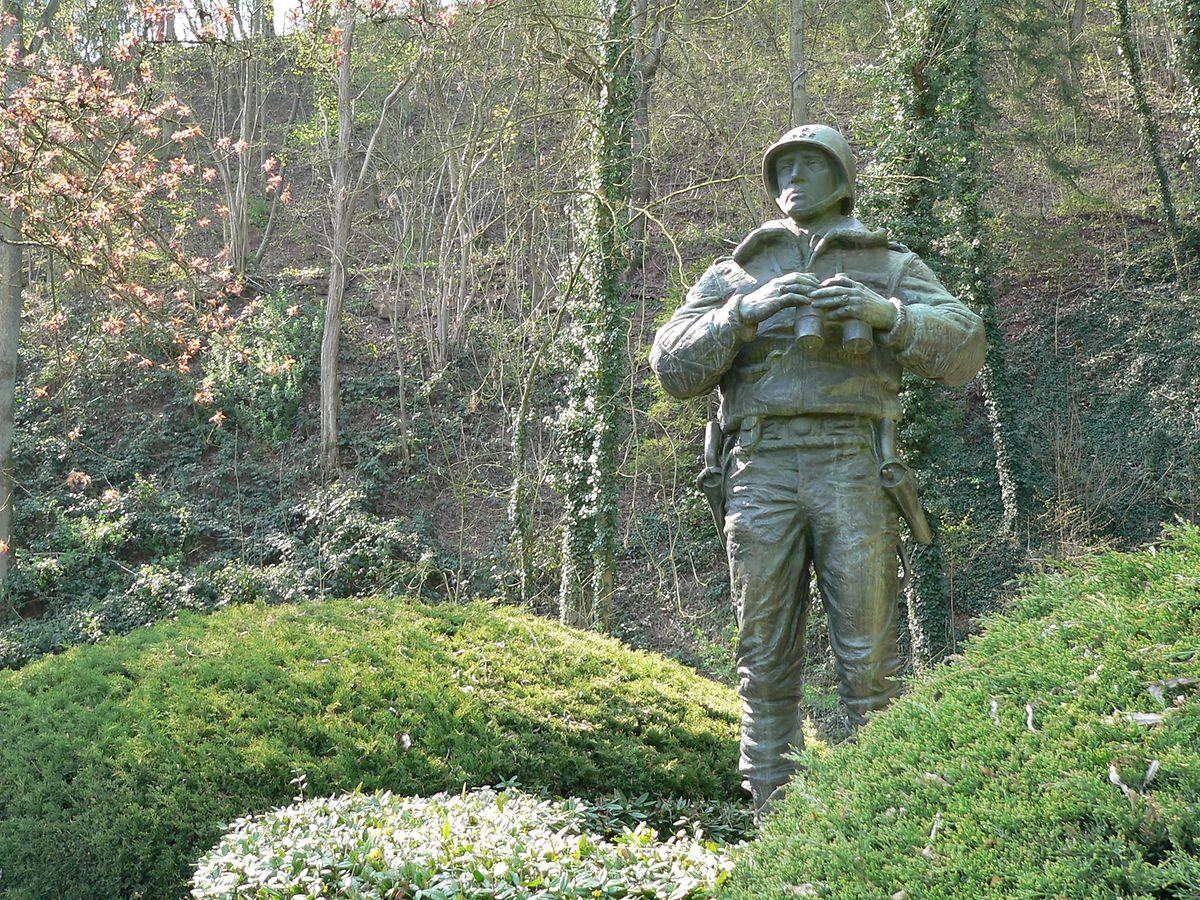 General Patton statue Photo: John Lamberty