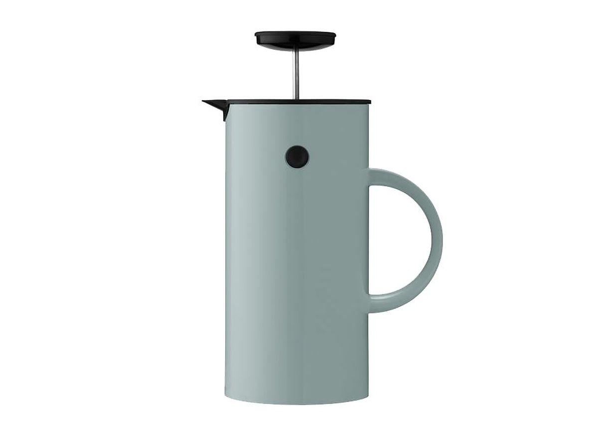 """French-Press-Kaffeebereiter """"EM"""" 1 l mit Isolierfunktion von Stelton. Preis um 60 Euro."""