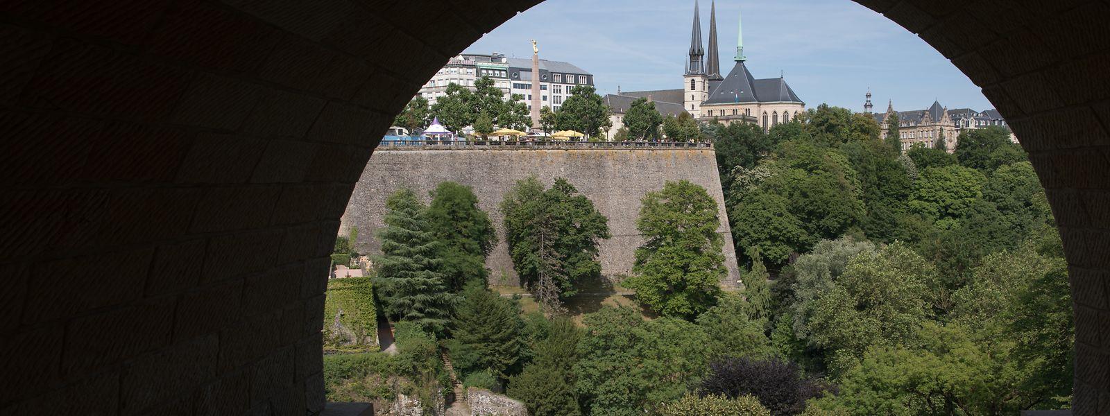 Bei der Gartenschau 2023 steht die grüne Seite von Luxemburg-Stadt im Vordergrund.