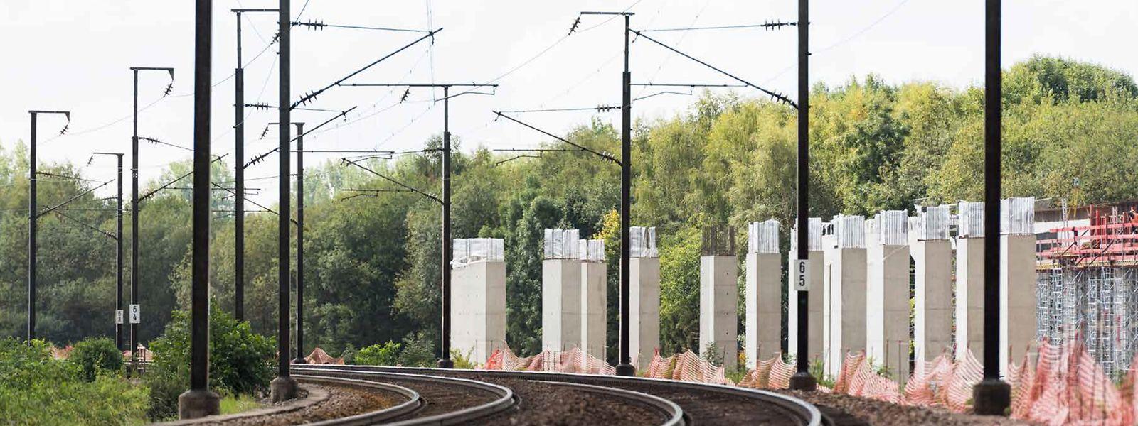 L'investissement le plus stratégique est la construction de deux voies entre Luxembourg et Bettembourg, au carrefour de tous les trains