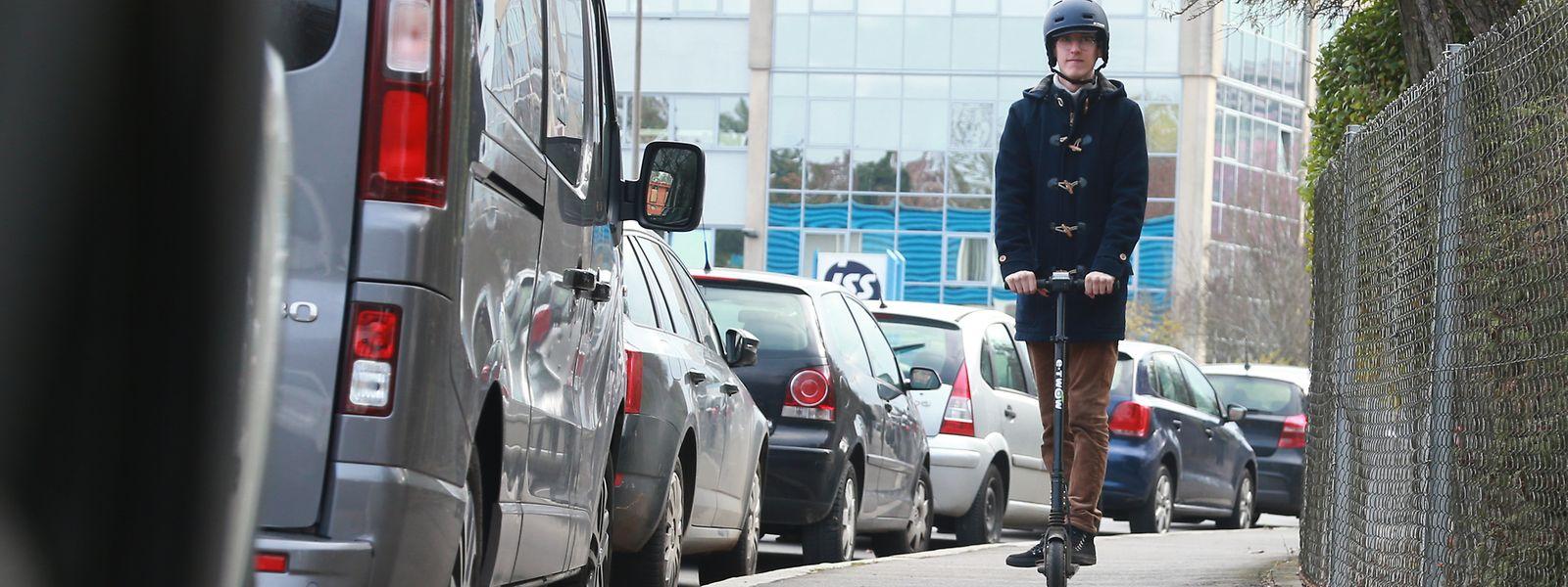 Au Luxembourg, la vitesse limite autorisée pourrait être de 25 km/h pour trottinettes, hoverboards et gyropodes.
