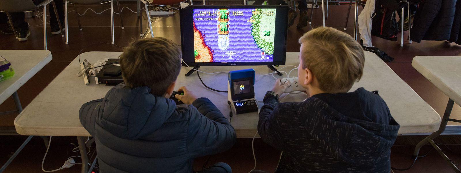 """Computerspiele aber auch klassische Brettspiele - alles das gibt es an diesem Wochenede bei """"Game on - 'Lëtzebuerg spillt!"""""""