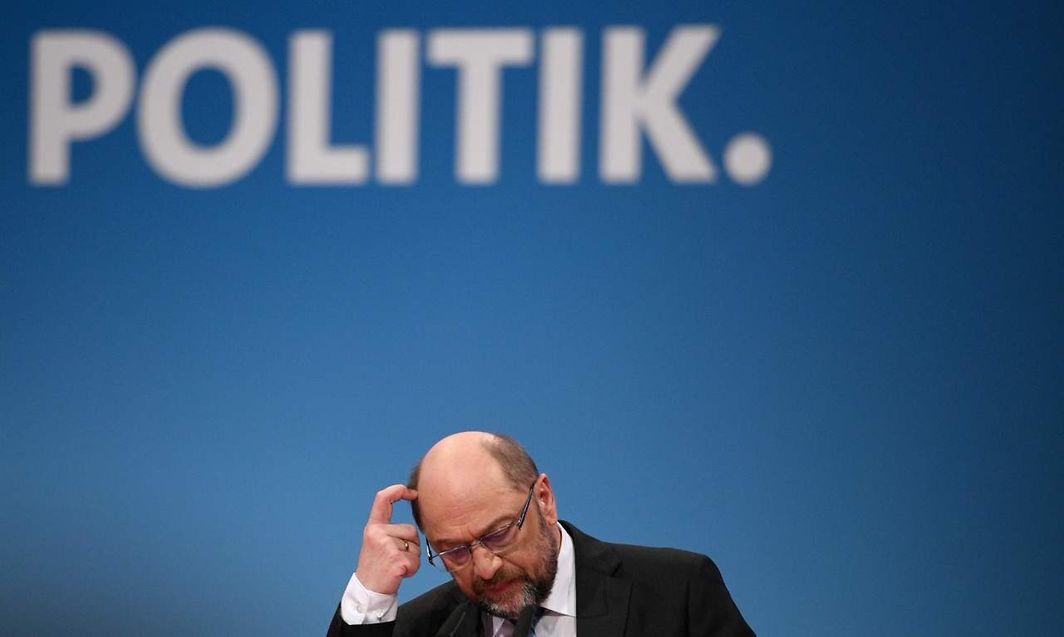 Schulz steht vor dem Ende seiner politischen karriere.