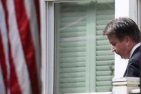 WASHINGTON, DC - SEPTEMBER 25: U.S. Supreme Court nominee Judge Brett Kavanaugh leaves his home September 26, 2018 in Chevy Chase, Maryland. Kavanaugh is scheduled to appear again before the Senate Judiciary Committee on Thursday to respond to the allegation of sexual assault by accuser Christine Blasey Ford.   Mark Wilson/Getty Images/AFP == FOR NEWSPAPERS, INTERNET, TELCOS & TELEVISION USE ONLY ==