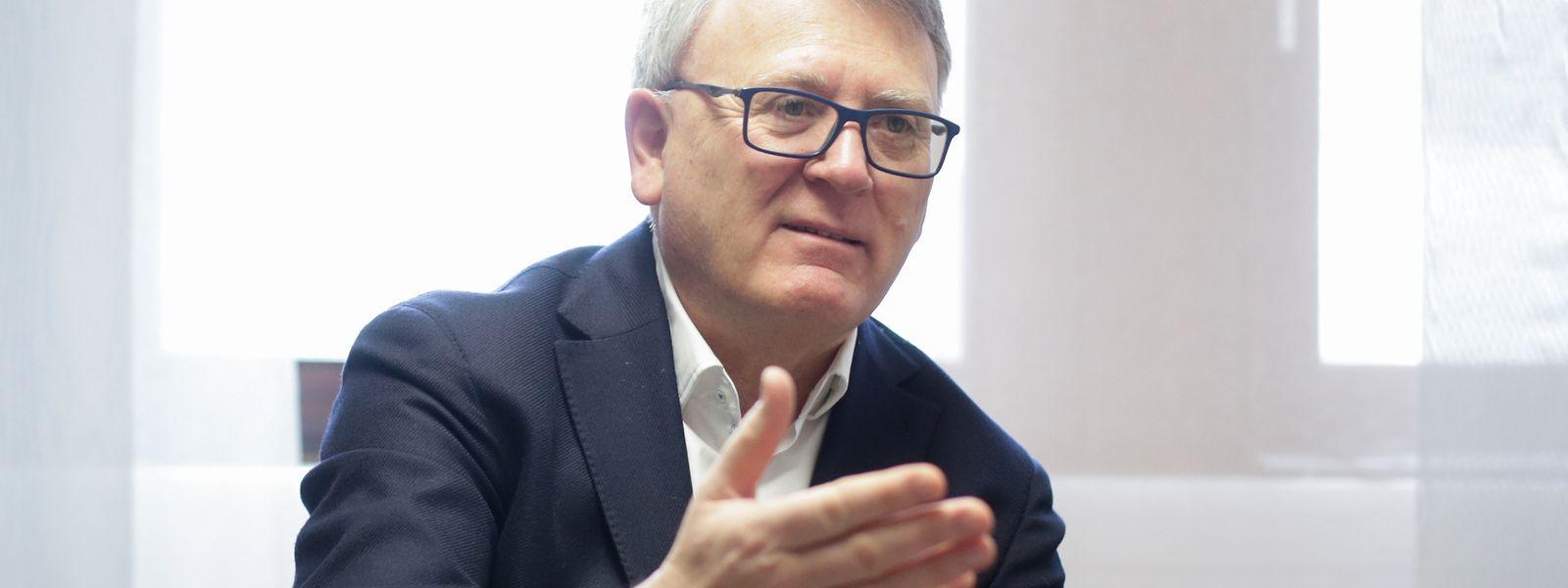 Diplomate de formation, Nicolas Schmit a longtemps rêvé des hautes sphères de l'UE. Il n'est plus qu'à une marche.
