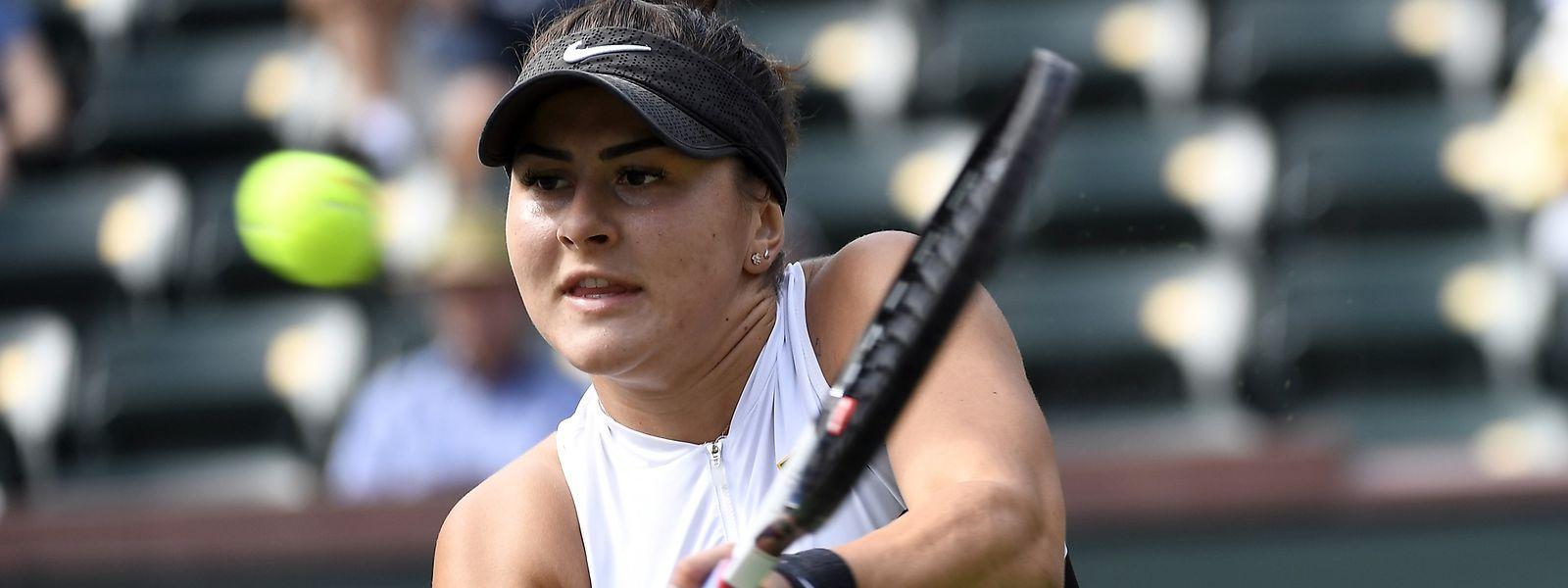 La Canadienne Bianca Andreescu a explosé l'ancienne n°+ mondiale Garbine Muguruza 6-0, 6-1