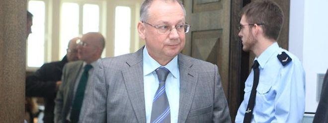 Armand Schockweiler: In der Verhandlung am Donnerstag nicht anwesend und doch im Mittelpunkt.