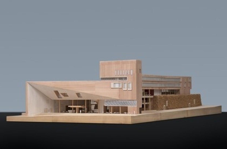 So soll die neue Nationalbibliothek aussehen.