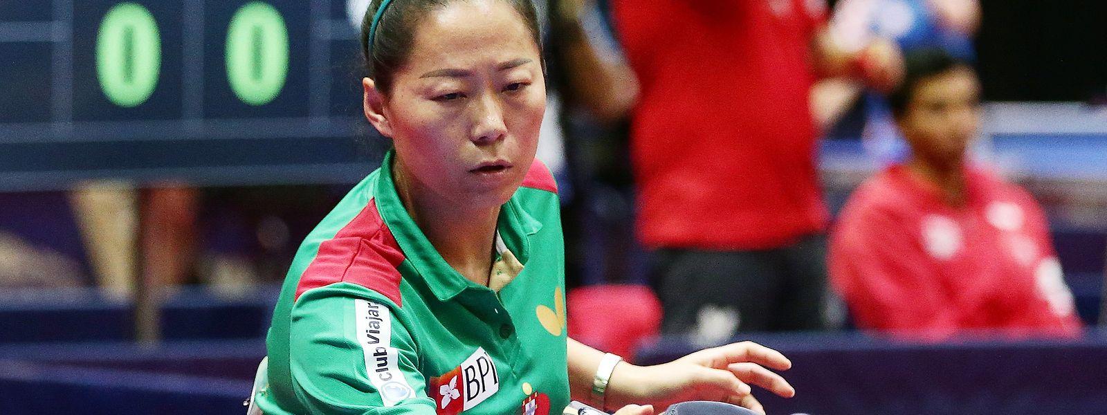 A jogadora portuguesa Fu YU foi determinante na vitória lusa frente à Ucrânia