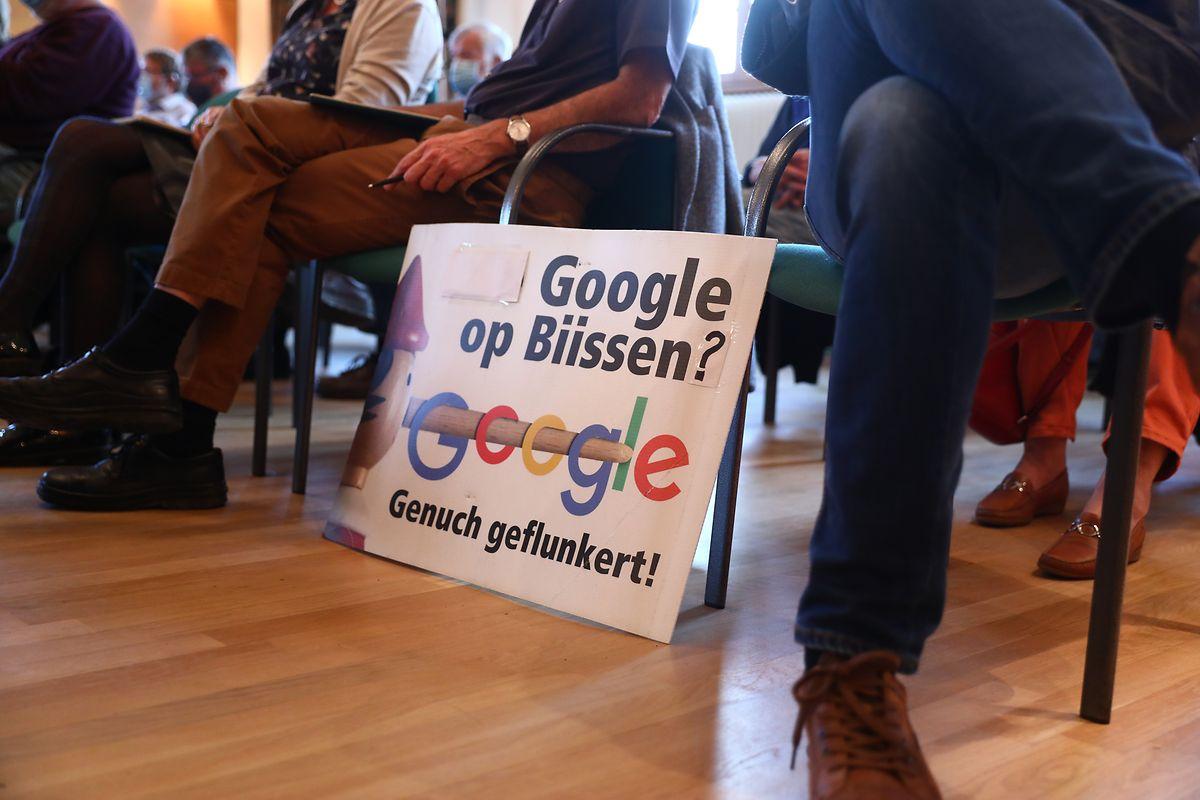 Malgré le vote positif du conseil communal de Bissen, tout le monde n'est toujours pas convaincu par le projet de datacenter du géant américain dans la campagne grand-ducale