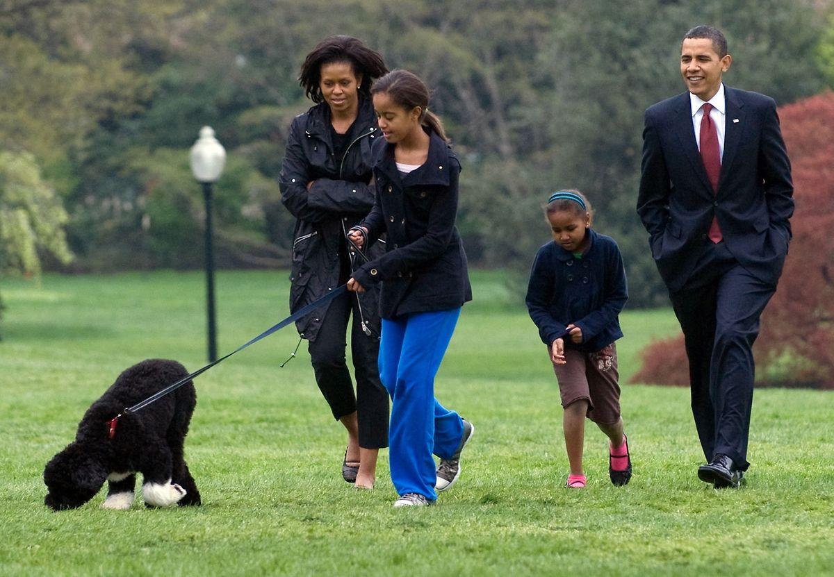 Barack Obama, un homme heureux.